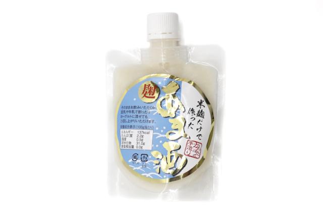 【かわばたみそ】米こうじだけで作った「麹あま酒」 135g(砂糖・保存料・添加物不使用)
