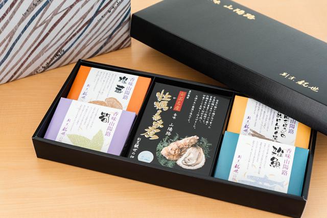 <食べて応援!>香味山陽路 佃煮5種セット【広島県/同梱不可・産地直送】