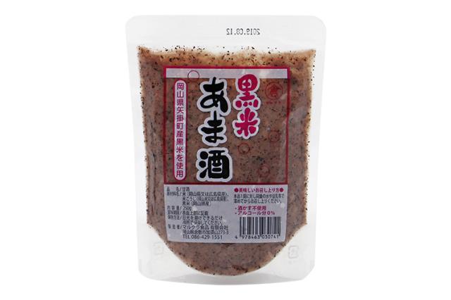 【岡山県マルクラ純正食品】国産 黒米あま酒