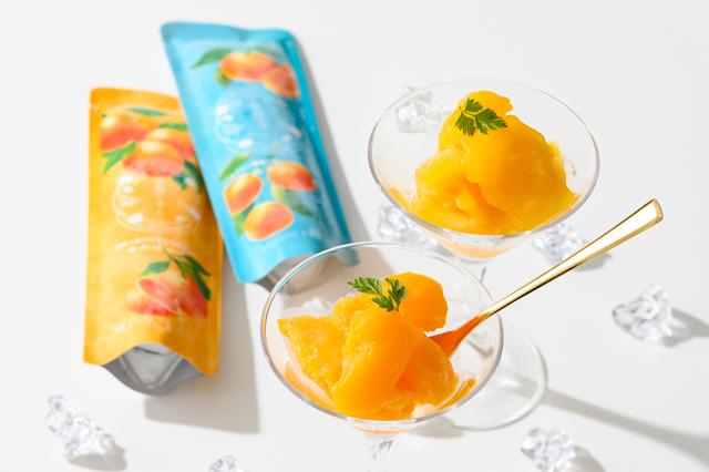 【山口県】 凍らせてもおいしい高級みかんジュレ 蜜柑しずく 8袋入<送料無料>【産地直送・同梱不可】