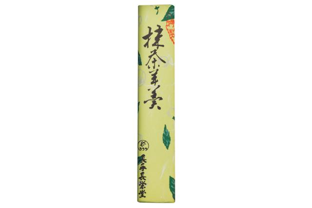 創業80余年 長手長栄堂の「抹茶羊羹(ようかん)」