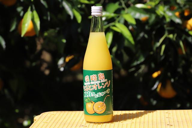淡路島なるとオレンジスカッとジュース