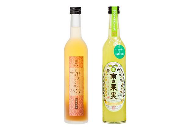 【母の日プレゼント・ギフト/送料込】【都美人酒造】日本酒に漬けた梅酒「梅の恋 にごり梅」とシークァーサーのお酒「南の果実」のセット