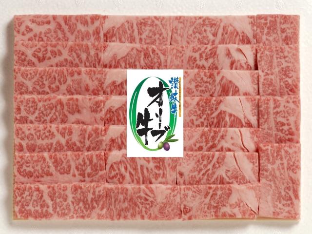【香川県】オリーブ牛 カルビ焼き肉 400g【産地直送・同梱不可】