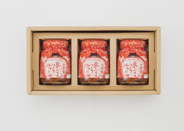 【香川県】小豆島 島のパスタソース オリーブオイルたっぷり「トマト」×3瓶セット
