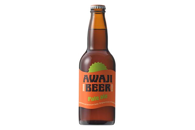 【赤銅のビール|フルーツアロマ系】 AWAJI BEER あわぢびーる ペールエール【無濾過・非熱処理】