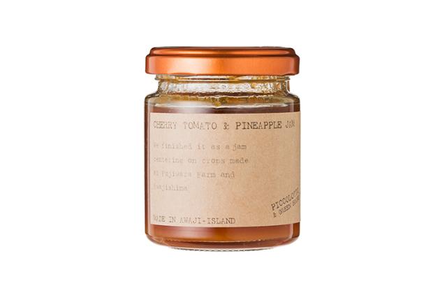 【ピッコロット】トマト&パインジャム【合成香料・合成着色料・保存料無添加】