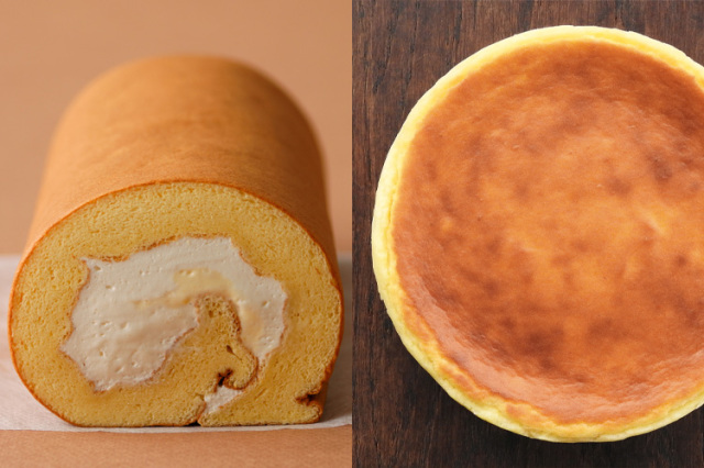 【お歳暮ギフト/送料無料】淡路島ロールケーキとベイクドチーズケーキセット