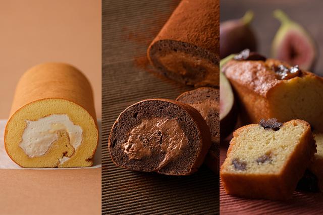 【お歳暮ギフト】淡路島ロールケーキ プレーン・グランショコラ・ブランデーケーキイチジク 3個セット(送料込)
