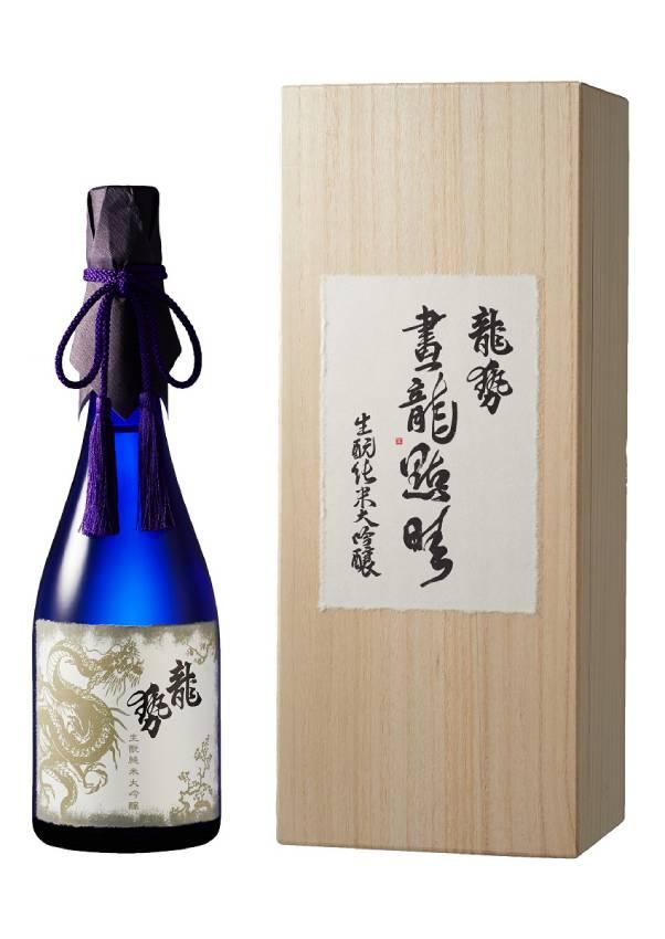 【同梱不可】 龍勢 「画龍点睛」 生純米大吟醸 720ml