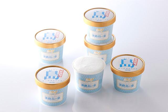 【淡路島牛乳使用】淡路島の恵 ヨーグルトアイス 6個