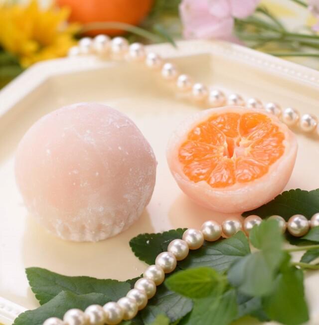 【愛媛県】冷たいみかんの真珠大福 10個入り(冷凍)