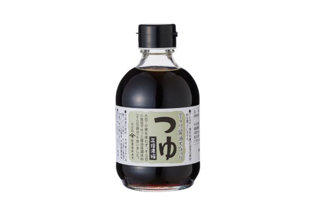 大豆・小麦不使用 そら豆醤油で作った「そら豆つゆ(三倍濃縮)」300ml【アレルギー特定原材料等27品目不使用】