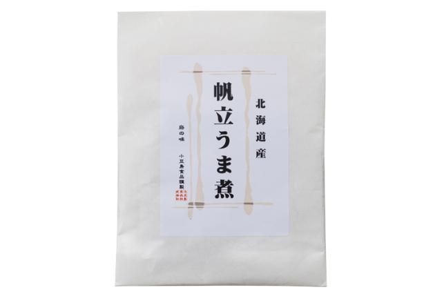 【食品添加物不使用】北海道産『生食用帆立』を再仕込み丸大豆醤油『鶴醤』で炊き上げた帆立うま煮