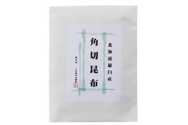 【食品添加物不使用】北海道羅臼産『羅臼昆布』を再仕込み丸大豆醤油『鶴醤』で炊き上げた角切昆布