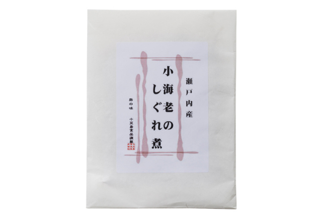 【食品添加物不使用】瀬戸内海産『小海老』を再仕込み丸大豆醤油『鶴醤』で炊き上げた小海老のしぐれ煮