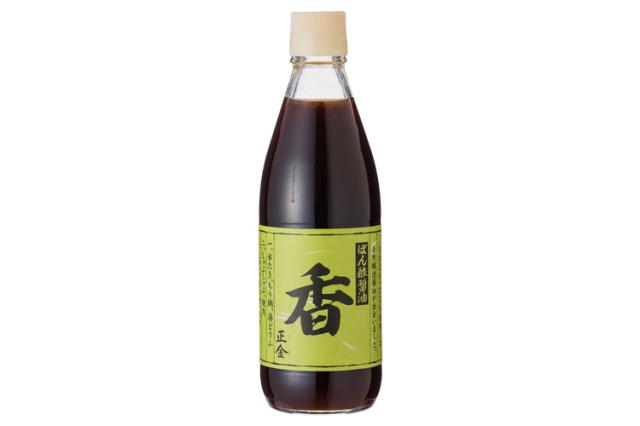 【正金醤油】天然柚子「香」【化学調味料不使用】