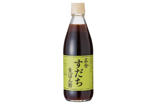【正金醤油】すだち生ぽん酢【化学調味料不使用】