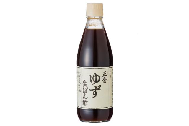 【正金醤油】ゆず生ぽん酢【化学調味料不使用】