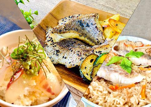 【愛媛県】となりの魚や|愛媛の鯛セット(鯛めし2種と鯛ステーキ)