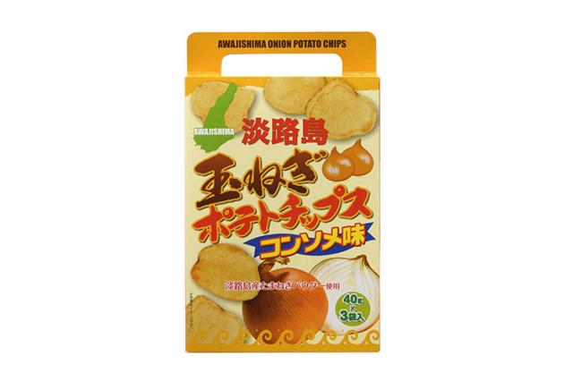 【淡路産玉ねぎ使用】淡路島 玉ねぎポテトチップス コンソメ味