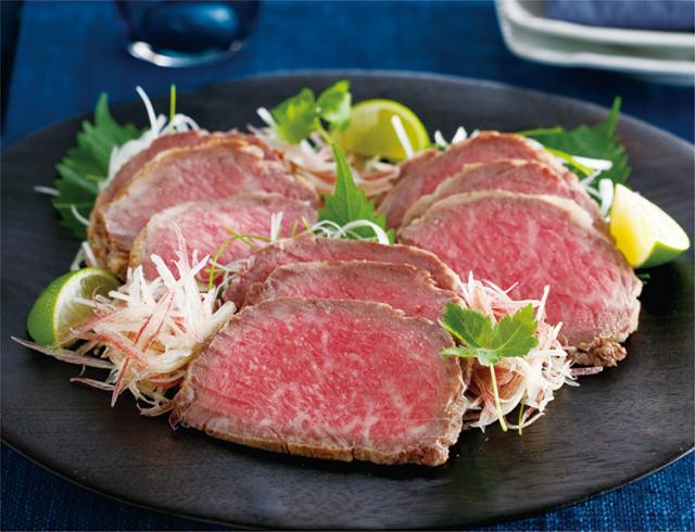 【ギフト】島のロースト職人の味をご自宅で 国産黒毛和牛サーロインのローストビーフ「極上 天潮節」400g