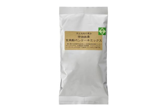 宇治抹茶玄米粉パンケーキミックス 125g