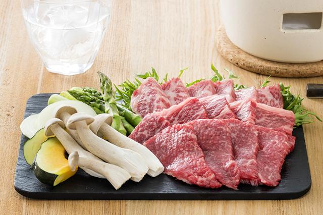 【敬老の日ギフト】島の厳選 淡路牛焼き肉セット(500g)藻塩付き