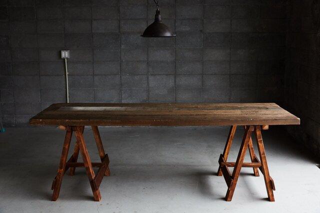 【瀬戸内造船家具】 ロングテーブル(折り畳み式)【送料無料】