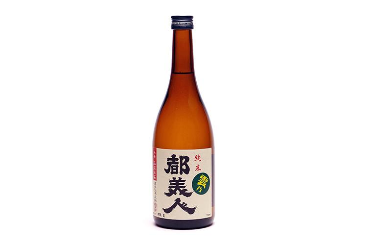 【都美人酒造】山廃純米 雲乃都美人(720ml)