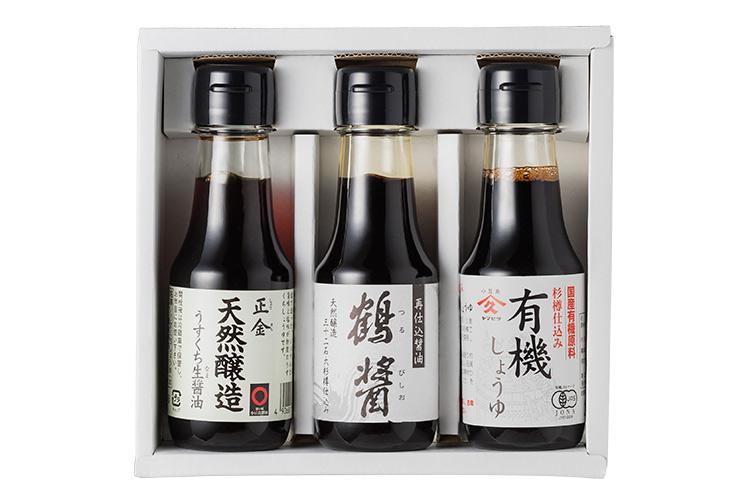 【島のこだわり醤油セット】小豆島を味わう3本セット【香川県|小豆島】