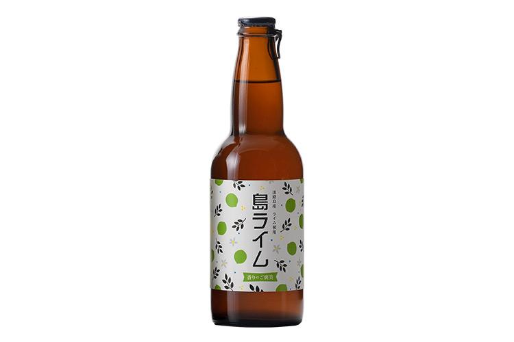 【通販|クラフトビール】AWAJI BEER 島ライム【無濾過・非熱処理・フレーバービア】