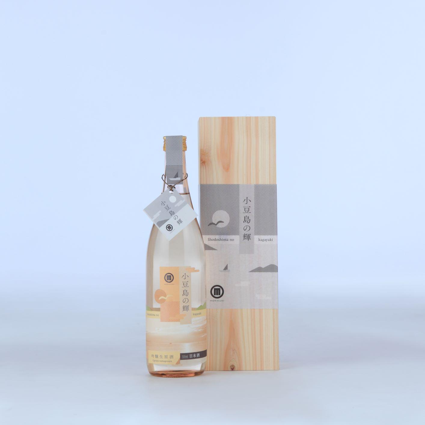 【香川県│小豆島酒造】小豆島の輝 吟醸生原酒【同梱不可・産地直送】
