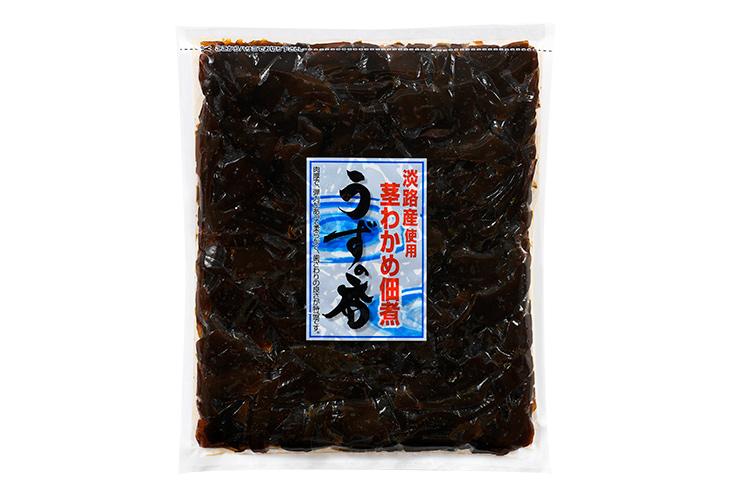 【通販|新物】淡路島産 茎わかめ佃煮 うずの香(お徳用)