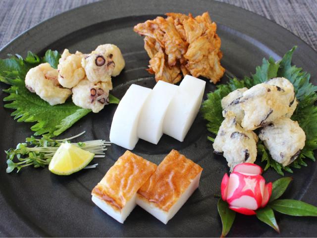 弔事用かまぼこ天ぷらギフト商品イメージ
