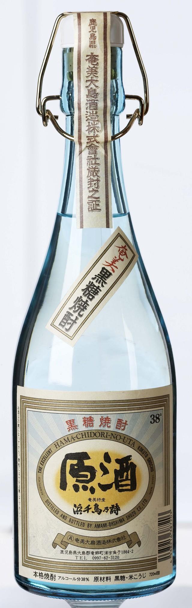 浜千鳥の詩原酒 アンティークボトル 38度 720ml