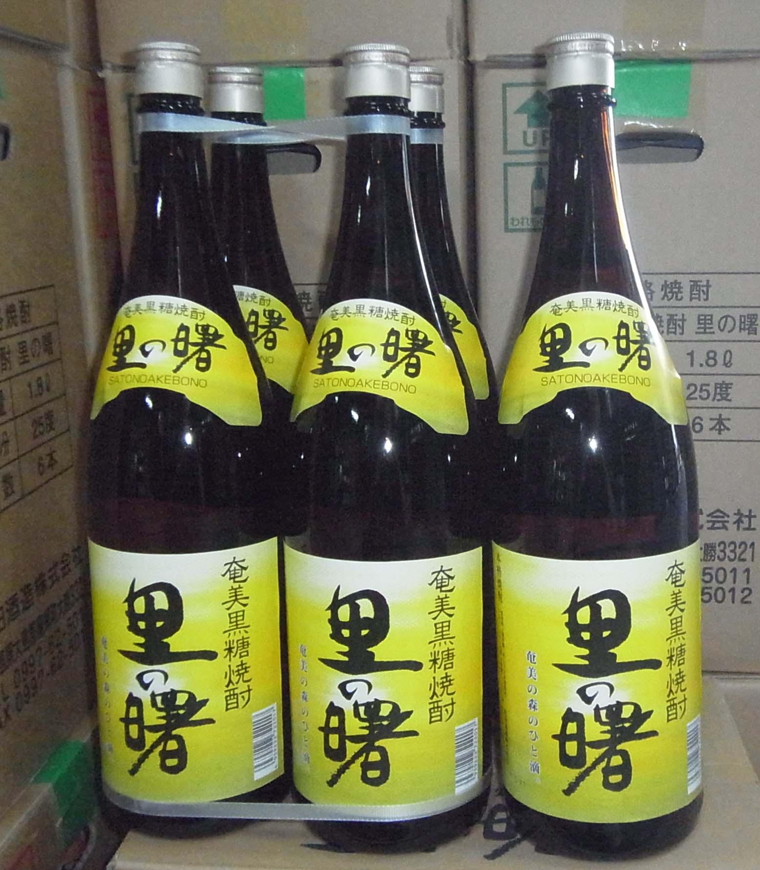 里の曙レギュラー25度1800ml瓶(6本セット)送料込み!