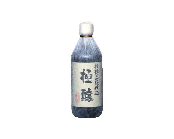 二段仕込醤油「極醸」500ml