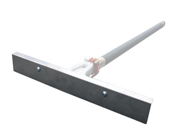 水道工事や設備工事等、狭小部の復旧に最適! シモダトンボ専用引板 ステンレス製幅450mm