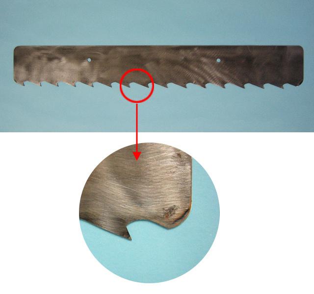 シモダトンボ専用引板 鋼(ノコ刃)小