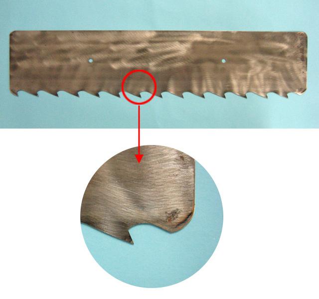 シモダトンボ専用引板 鋼(ノコ刃)大