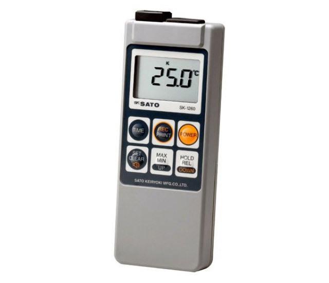 防水型デジタル温度計SK-1260