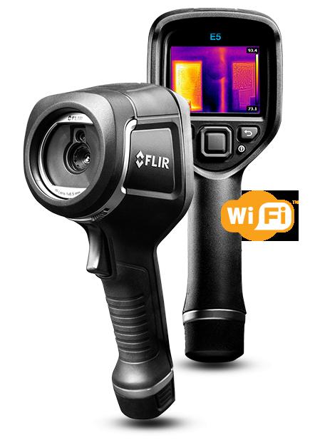 サーモグラフィカメラ FLIR E5 wifi
