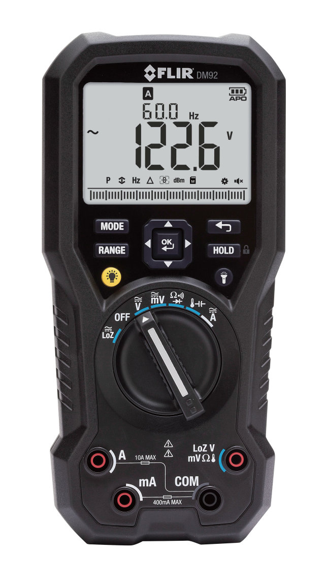 DM92/93 True RMSデジタルマルチメーター