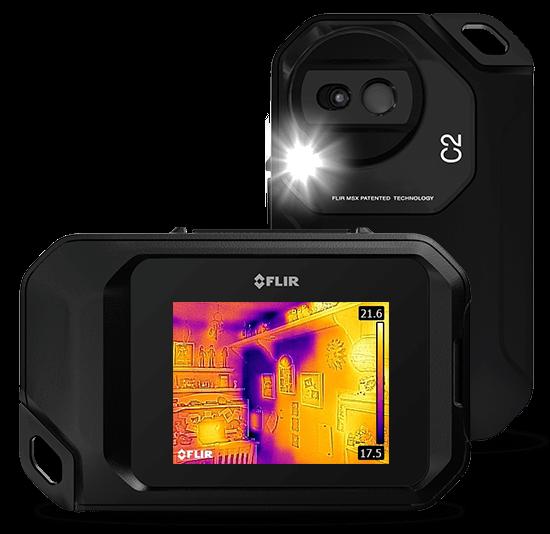 赤外線サーモグラフィカメラ C2