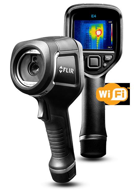 サーモグラフィカメラ FLIR E4 wifi