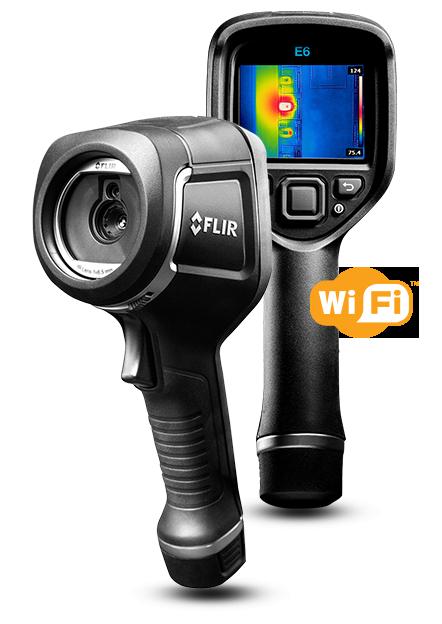 サーモグラフィカメラ FLIR E6 wifi