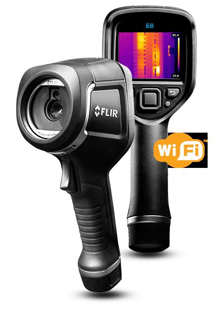 サーモグラフィカメラ FLIR E8 wifi