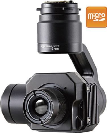 3軸ジンバル付サーモカメラ ZenmuseXT-R