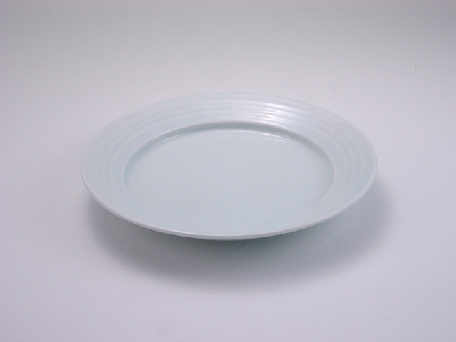 太白LAKTAK 6寸皿 しん窯 青花